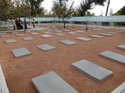 チャーター直行便で行くウズベキスタン周遊の旅 13 タシケントに眠る日本人墓地墓参の旅
