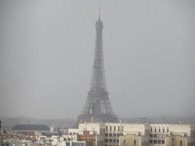 パリへ。ハルキとかおるの一週間の旅 ~ノートルダム大聖堂で緊急避難~