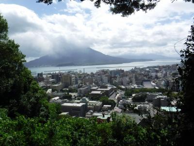 お盆は南九州へ①~1日目・大叔母と鹿児島で遊ぶ!そうめん流し、白熊、桜島納涼観光船~