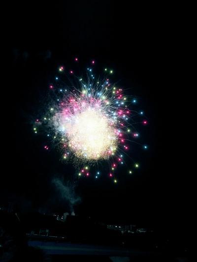 今年は混んでた、鶴見川サマーフェスタ花火大会