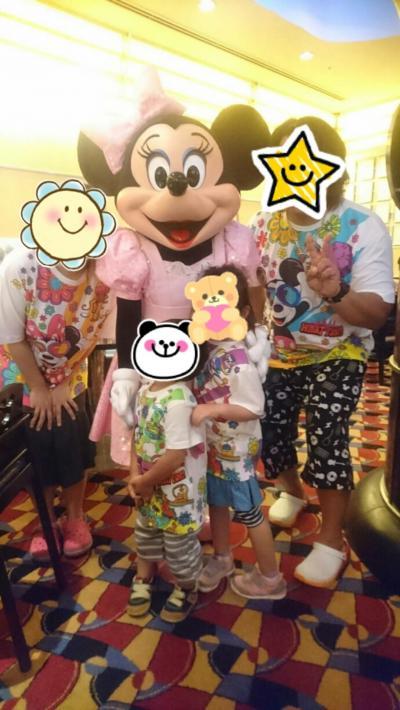 4歳2歳連れ、初めての夏ディズニー2018アンバサダーホテル2泊3日⑤