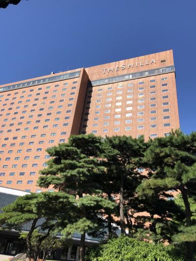 新羅ホテルで過ごす夏休み