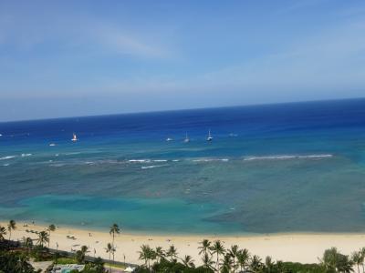 2018.7 ハワイ オーシャンビューの部屋を満喫  6日目・7日目・帰国