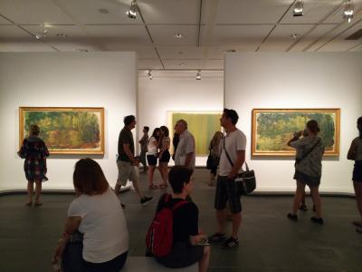 2018夏 フランス・ドイツ周遊 パリ2日目AM 街歩き開始!チュイルリー宮を抜けてオランジュリー美術館へ