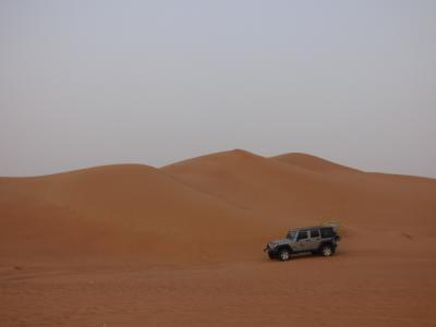 ドバイがヤバイ! 灼熱の中近東ドバイ・アブダビの旅 デザートサファリ