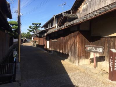2018 09 麒麟がくる 安土城跡 五個荘 近江商人屋敷