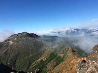 那須の休日2018~8月 朝日岳-茶臼岳登山