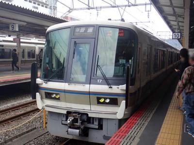 秋の奈良(2)奈良県を通らないJR奈良線
