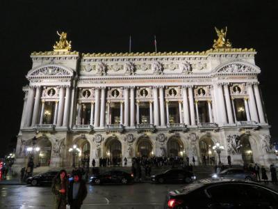 パリへ。ハルキとかおるの一週間の旅 ~ガルニエ最上階からのオペラ~