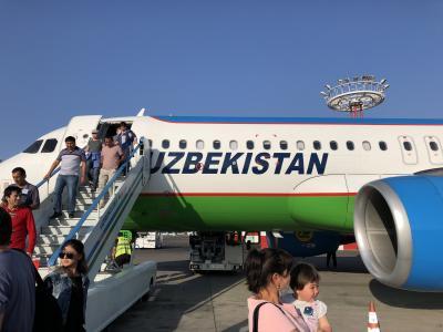 ウズベキスタン タシュケント乗継