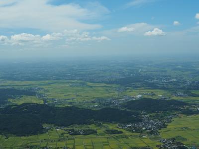 関東平野を一望 筑波山日帰り登山