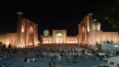 2018年8月 ウズベキスタン旅行(その2・サマルカンド)