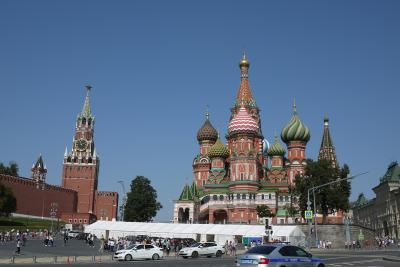ツアー参加でロシアへ1~乗継地モスクワで1泊