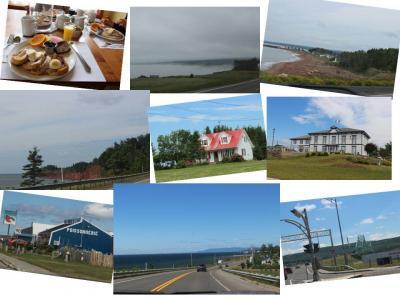 カナダ東部5州、ドライブ旅行2018 Day4-1(ペルセから、ニューブランズウィック州に向けて、ガスペ半島をドライブ)