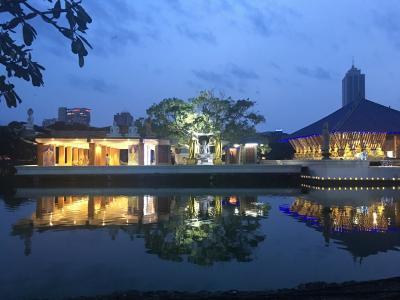初めてのスリランカ☆コロンボでジェフリーバワ建築を巡る☆彡