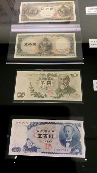 王子駅そばのお札と切手の博物館へ行ってきました。