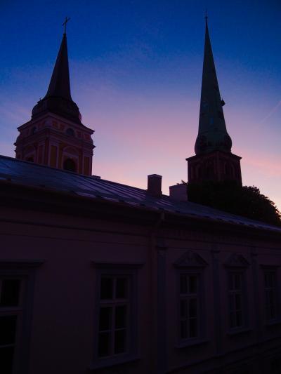 ラトビア/夏休みはバルト1国+α。vol.2_リトアニア日帰りと乗継時間でヘルシンキ@グランドパレスホテルリガ(2018年8月)