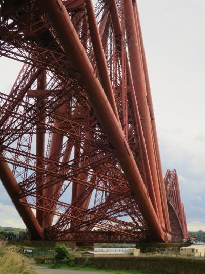 ロンドンとエディンバラの旅(7:赤き鉄の龍・フォース鉄道橋)
