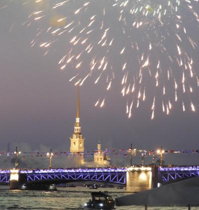 銀婚式旅行:サンクトペテルブルク②-海軍祭・ロシア美術館・ファベルジュ博物館。