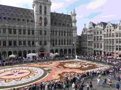 2018年ブリュッセルのフラワーカーペットのテーマはメキシコでした Brussel
