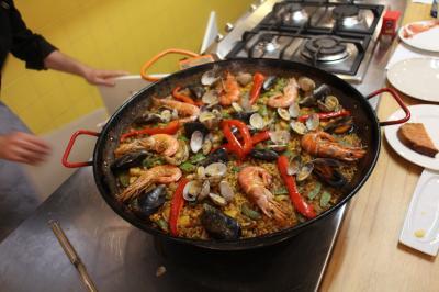 海外Wedding*ついでに周遊バルセロナ&ロンドン 3日目 バルセロナ料理教室