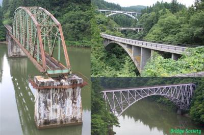 ◆会津若松~長岡 只見線沿線の橋梁等を巡る旅◆その1 会津若松~本名