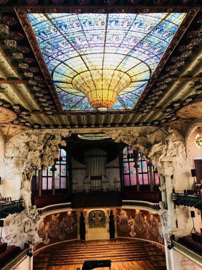 スペイン旅行2018 その9 絶品パエリアとカタルーニャ音楽堂