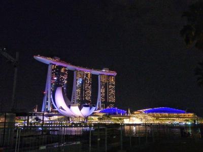 シンガポール2泊4日の夏たび2018①