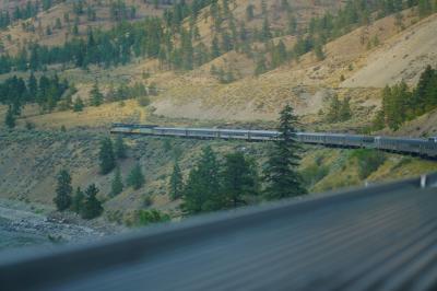 2018カナダ横断ひとり旅11日間vol.2(大陸横断鉄道で越えるロッキーの山々)