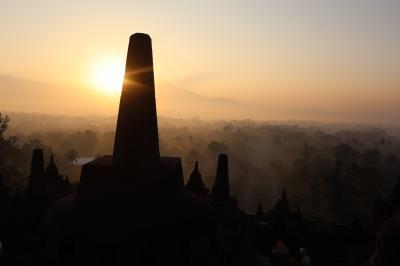 インドネシア旅行2018  Part3:ボロブドゥール遺跡 (2日目:7/17)