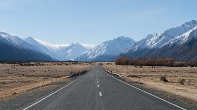はじめてのニュージーランド行き 3日目 その2 ( マウントクック国立公園周辺編)
