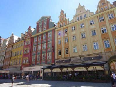 初夏のポーランド3都市めぐり9日間【8】5日目・クラクフからヴロツワフへ!小人が住むカラフルですごーく可愛い旧市街ワクワク街歩き。