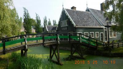 春のチェコとウィーンを巡る(番外編) 36 ザーンセスカンス(オランダ)~帰国