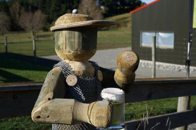 はじめてのニュージーランド行き 4日目 その1 (Burkes Pass~ Valley Brewing Company~Geraldine編)