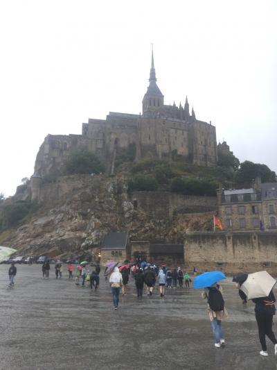 夏休み  ★フランスふたたび★ その3 個人手配で行くモンサンミッシェル