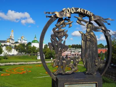 マトリョーシカが好きすぎて…ロシア一人旅(8)携帯封印!地図なし、通信手段なし(セルギエフ・パッサード)