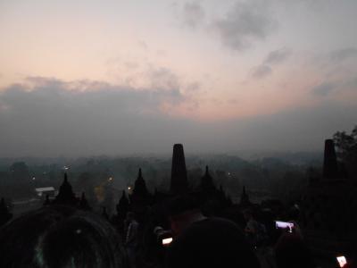 2018年インドネシア一人旅②ジョグジャカルタからボロブドゥールへ