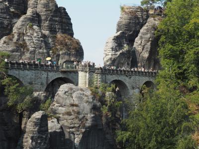 2018夏のドイツ旅(その8)6日目 自然を求めてザクセンスイスへ(ザクセン州)