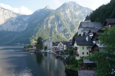 2018 初チロルハイキング! オーストリア列車の旅11日間♪⑨絵のように美しい町ハルシュタットを散策