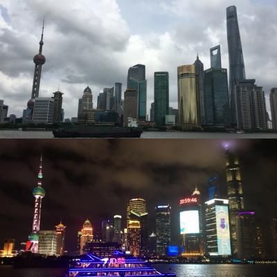 2018年夏休み 中国上海観光&上海ディズニー6泊7日(2日目:豫園/外灘/上海中心大廈)
