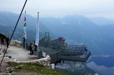 2018 初チロルハイキング! オーストリア列車の旅11日間♪⑩早朝のハルシュタットとクリッペンシュタインへ