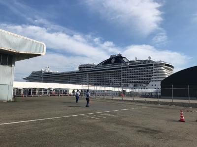 MSC Splendida スプレンディダで横浜から上海へ