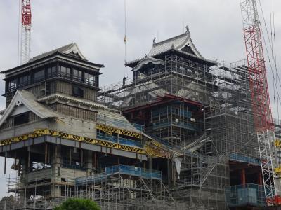 専業主婦の節約旅行。どこかにマイルで熊本へ【島原-熊本城-帰宅編】