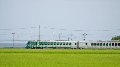 五能線 リゾートしらかみを撮る!!!秋田の鉄道にふれあう【秋田一人旅:2日目】