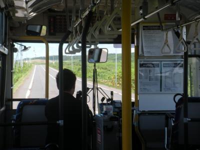 日本一停留所の多いバス路線