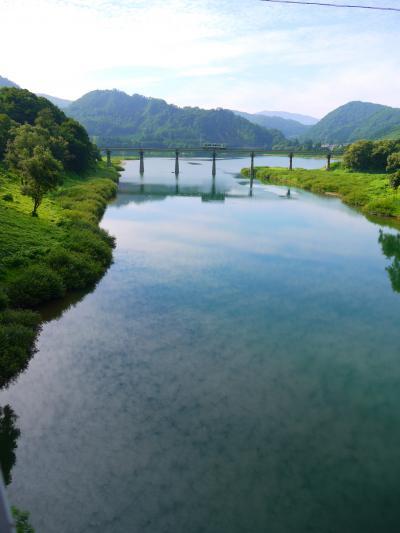 平成最後の暑すぎる夏! 青春18きっぷで大阪→岩手へ避暑の旅 その6『ポスターの景色を見たくて。北上線&ほっとゆだ温泉』