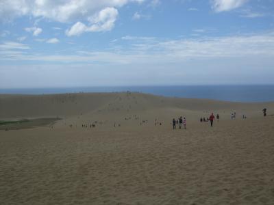 大山から砂丘