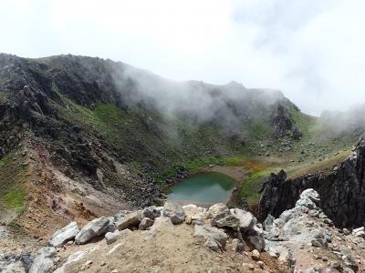 北アルプス唯一の活火山 焼岳へ登山 夜行バス+山小屋1泊