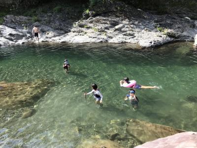家族キャンプ2018年8月(長男9歳、次男7歳)IN 天川村 庵の郷キャンプ場