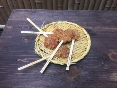 広島でお好み焼き、揚げもみじ饅頭を食す。
